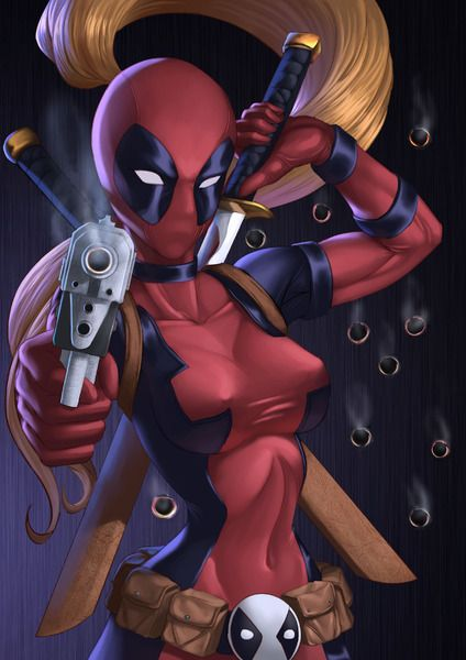 Lady deadpool by Chris Koh