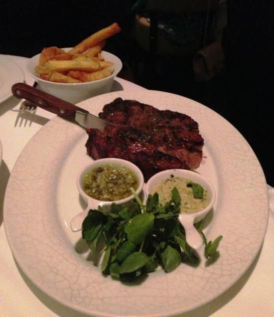 La Petite Maison, Dubai: Ribe Eye Steak