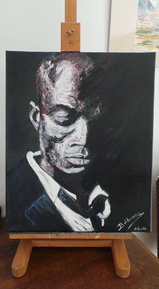 Peinture de Béhenne, à vendre au profit de l'Association Malades de Rendu-Osler (maladie génétique rare)
