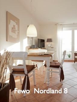 Ferienwohnung Nordland 8 auf Norderney eine der beliebtesten Wohnungen auf der Insel