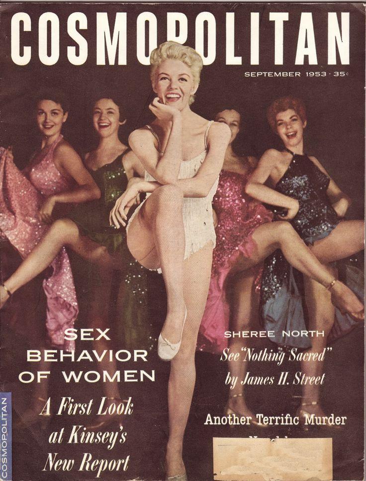 Cosmopolitan magazine, SEPTEMBER 1953 Sheree North on cover