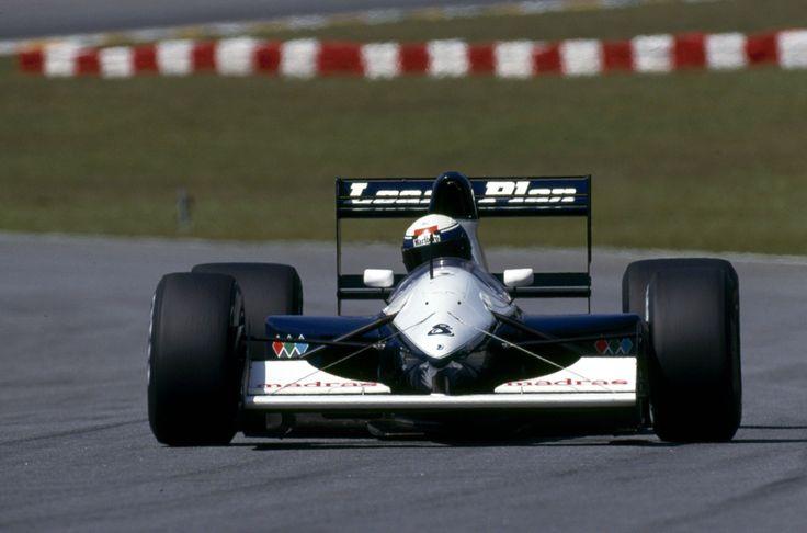 Giovanna Amati, Brabham-Judd BT60B, 1992 Brazilian GP, Interlagos
