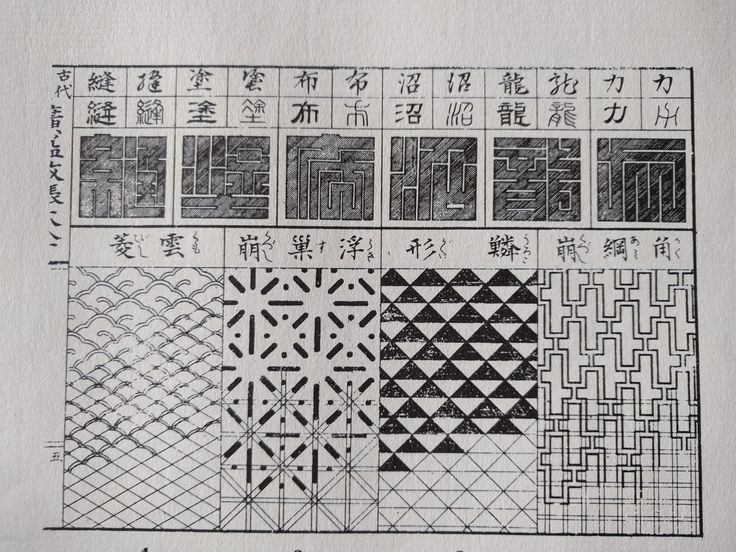 Template for Japanese Pattern