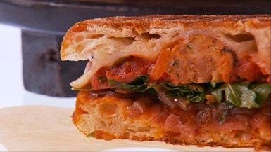 Meatball Panini- a Giada recipe