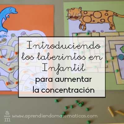 Empezar a jugar con laberintos en infantil ayudarán al niño a mejorar su concentración y capacidad de orientación en el espacio.