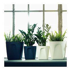 NEKTARIN 自動水やり機能付き植木鉢 - 21 cm - IKEA