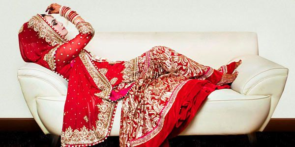 The Eternal Connection of Red and Indian Brides - BollywoodShaadis.com