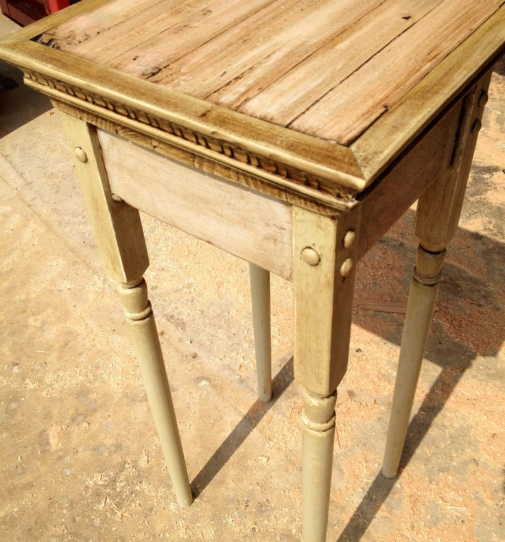 9 best images about accent tables on pinterest butcher for Wood balusters for tables