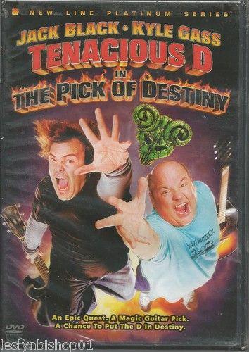 Tenacious D in: The Pick of Destiny (DVD, 2007) Jack Black, Kyle Gass