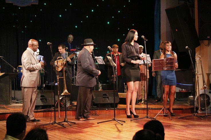 Orquesta Buena Vista Performs TO 2015 Festival The Distillery District Toronto Ontario July 12