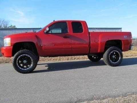 2007 Chevy Silverado 1500 LT Lifted Truck For Sale
