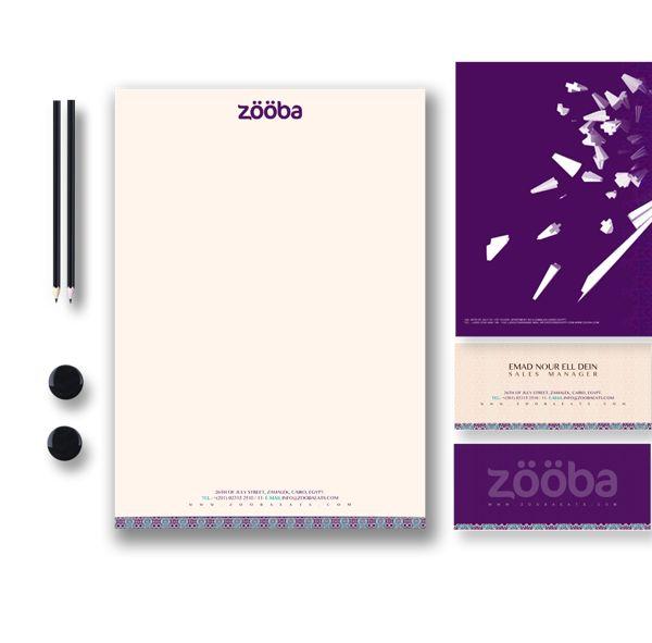 Zooba-(corporate-identity-) - Stationary - Kop Surat Desain Elegan