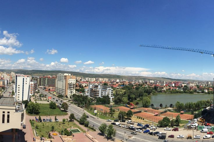 Vedere panoramica de la Riviera Cluj