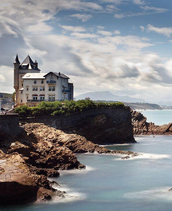 frankrijkpuur.nl | Kustplaats Biarritz, Pyrénées-Atlantiques, Aquitanië, Frankrijk #biarritz #aquitaine #kustplaats #coastalcity #frankrijk #france