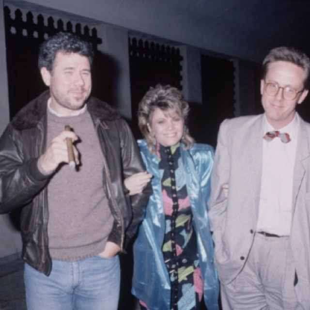 John Larroquette, Markie Post and Harry Anderson . #nightcourt