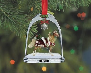 Breyer - 2013 Stirrup Christmas Tree Ornament - Equestrian Home