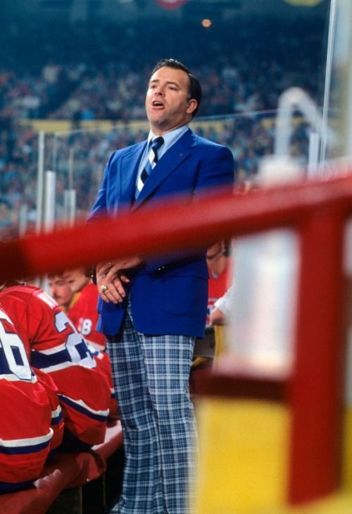 Habs coach Scotty Bowman's *ahem* fashion sense. Photo credit: Dick Raphael for Sports Illustrated