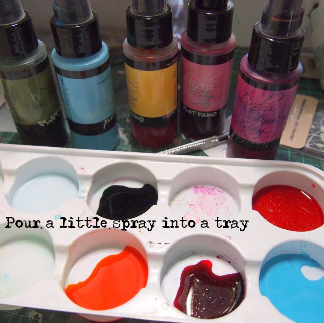 Lindy's Stamp Gang Watercolor Tutorial