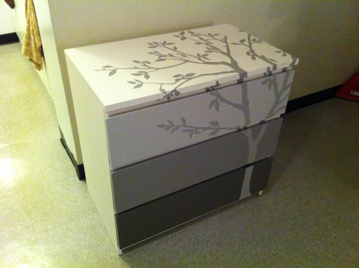 19 best malm pintadas images on pinterest child room Ikea furniture makeover