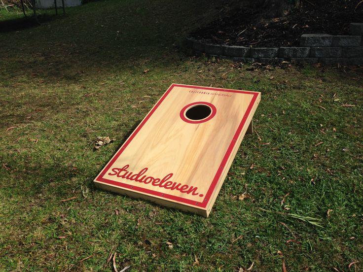 Custom Design. California Sandbag, New Zealand, Corn-hole, Bago, Gaming, Back yard, Beach, Bag Toss. #californiasandbagnz