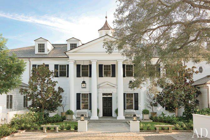 Rob Lowe's 20 room Georgian style dream home in Montecito/Santa Barbara, CA.