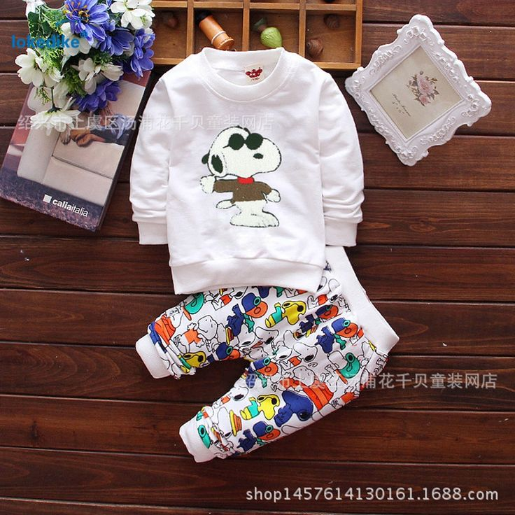Autumn Winter Boys Girls Cartoon Dog Clothes 2017 New Arrival Kids Toddler Clothing 2 pieces Set Unisex Children Set Cotton T649 //Price: €0 & FREE Shipping //   #fashion #baby #clothes #trendy #2017