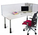 SLX Desk Mounted Ice Screen