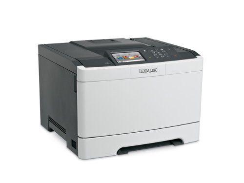 "Lexmark 28ET021 Government CS510de Color Laser Printer. The solutions-capable Lexmark CS510de network-ready color laser printer with 2-sided printing standard. Government Lexmark CS510de Color Laser Printer (32 ppm) (512 MB) (85"" x 14"") (1200 x 1200 dpi) (Max Duty Cycle 85 000 Pages) (Duplex) (USB) (Ethernet) (Touchscreen) (250 Sheet Input Capacity). Color Laser."