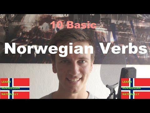 How To Conjugate Norwegian Verbs - Learn Norwegian Naturally