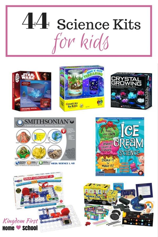 Is your homeschool science class in need of something fun? Why not add some fun science experiments? Get your kids excited about science with this huge list of super fun science kits for kids.