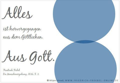 """Zitat aus dem Buch: Die Menschenerziehung:  """"Alles ist hervorgegangen aus dem Göttlichen. Aus Gott."""""""