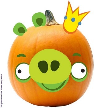 Rovio Angry Birds King Pig Pumpkin Push Ins$11.83