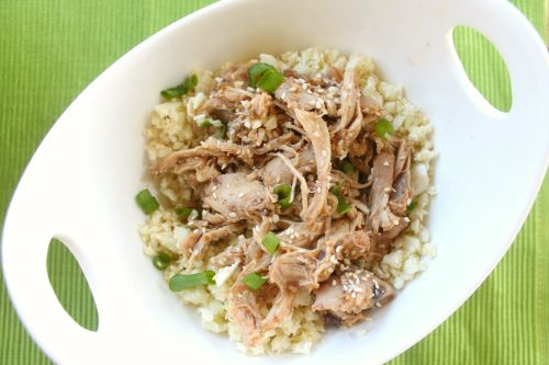 crockpot sesame chicken for #sundaysupper | clean eating, whole 30, paleo approved
