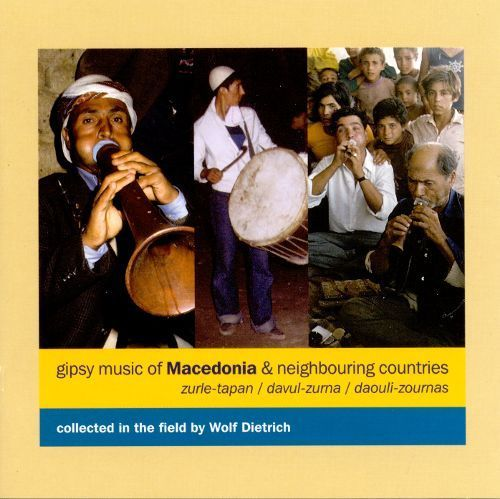 Gipsy Music of Macedonia & Neighbouring Countries [CD]
