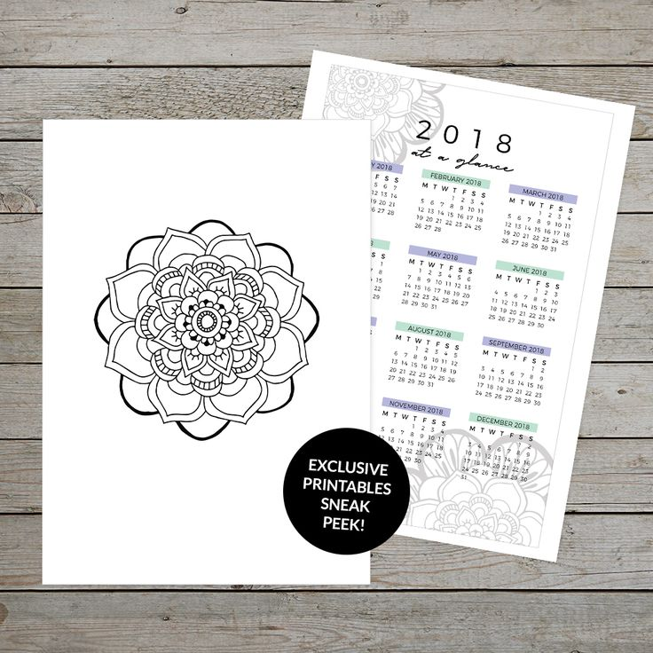 Sneak peek of two exclusive planner printables available in December. Click through to learn how to access these printables. #bulletjournal #bulletjournaling #bujo #planner #plannerprintable #exclusiveplannerprintables #planneraddict #spaceandquiet #printablemandala #bulletjournalprintables