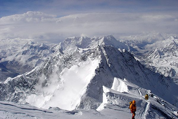 From the summit - Mt. Everest Photos