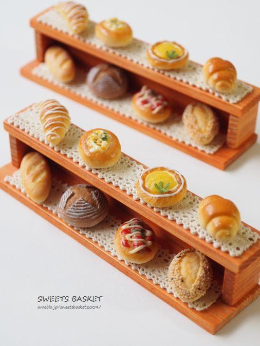 「8コのパンマグネットのミニ棚」完成♪ | SWEETS BASKET (S+B)