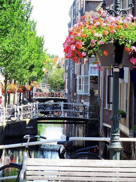 Voldersgracht Delft, The Netherlands