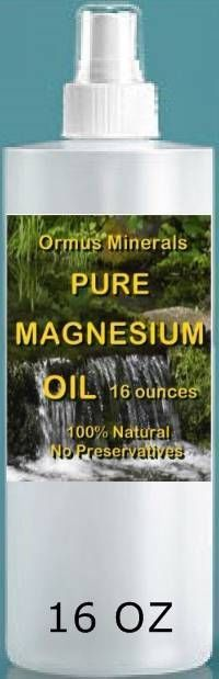 Pure Magnesium oil 16oz