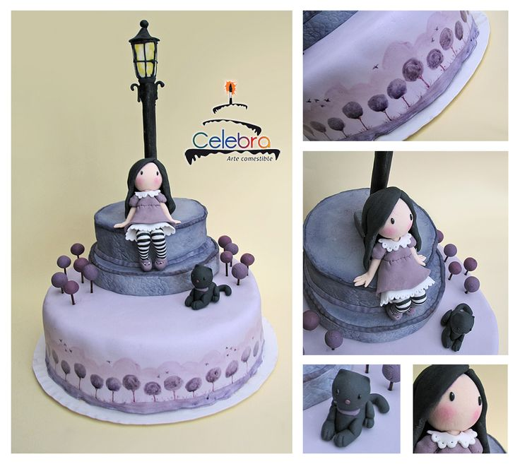 Cake Art By Suzanne : 1000+ images about Tartas Gorjuss on Pinterest Gorgeous ...