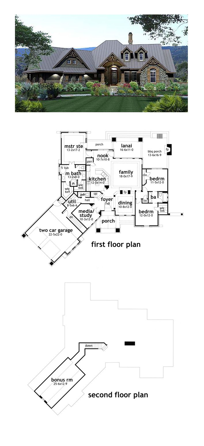 Best Selling House Plan 65871 | Total Living Area: 2106 sq. ft., 3 bedrooms and 2.5 bathrooms. #bestselling