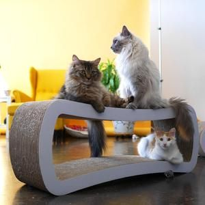 Petfusion Jumbo Cat Scratcher Lounge Meowsrus Cool Stuff For Your Pinterest And