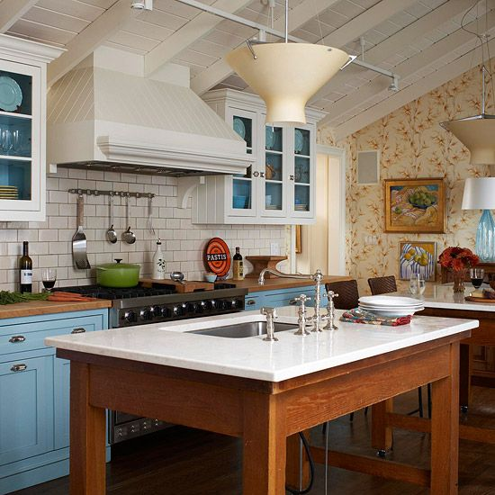 Inspiring Country Kitchen Paint Colors To Get Inspirations: 16 Best Mismatched Kitchen Images On Pinterest