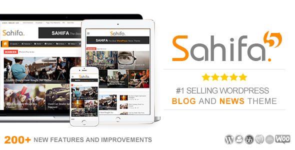 ThemeForest - Sahifa v5.6.2 - Responsive WordPress News Magazine Blog Theme