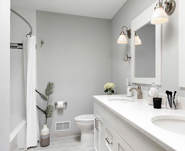 42++ Grey bathroom with white vanity best