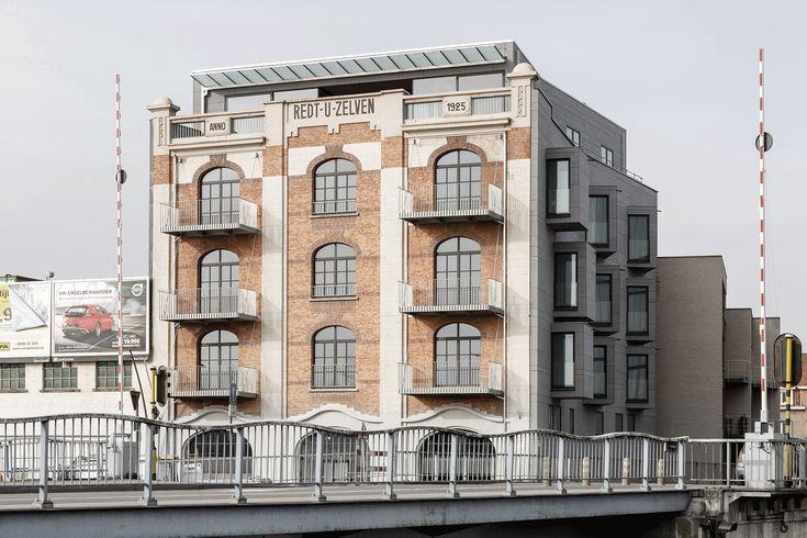 Equitone:Belgium - Aalst - Housing renovation