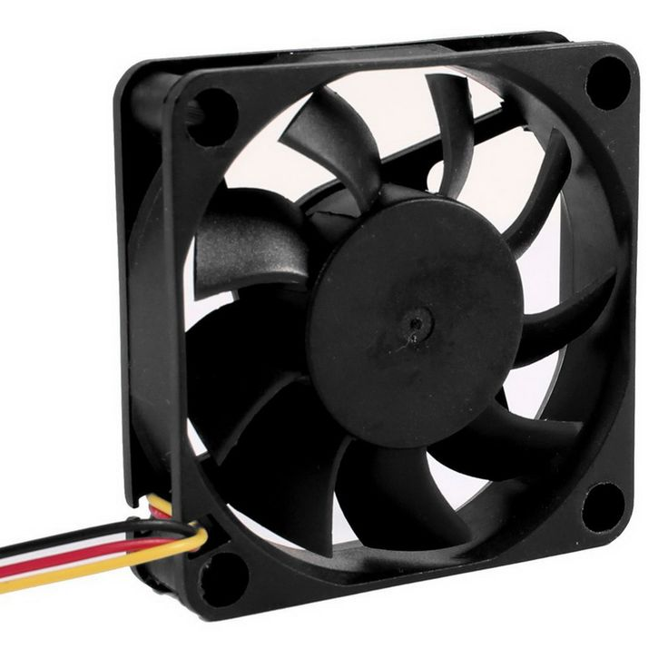 3Pin DC12V 0.2A fan Cool Computer chassis cooling Fans Cooler Radiator Part 60*60mm  #Affiliate
