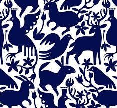 Resultado de imagen para patrones de bordado otomí
