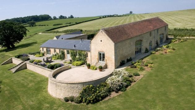 Chipping Camden, Gloucestershire; £2.75million guide price  Set in rolling farmland, this period former barn comes with five acres of land to enjoy. Smiths Gore