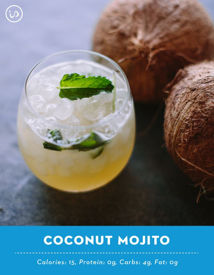 This drink right here? Only 15 CALORIES  One of the best ways to stay on track with your goals is to switch things up to keep it interesting, and that's why we've got some major love for this Coconut Mojito! The mint leaves give it a refreshing twist we think you'll love too!   Recipe: 1 packet Coconut Lime IdealBoost ¼ cup coconut water  1 ¾ cups club soda   Mix Coconut Lime IdealBoost, coconut water, and club soda until boost has completely dissolved. Add ice, mint leaves and enjoy…
